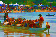 Dragonboat Posters - Dragonboat Poster by Brian Davis