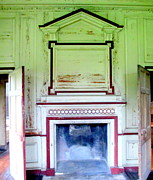 Drayton Hall Prints - Drayton Fireplace 3 Print by Randall Weidner