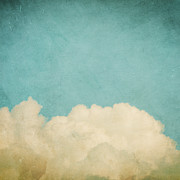 Blue Clouds Prints - Dream A Little Dream Print by Violet Damyan