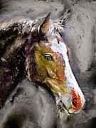 Horse Head Digital Art - Dreaming Horse by Dirk Czarnota