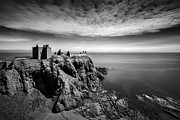 Ancient Ruins Prints - Dunnottar Castle I Print by David Bowman