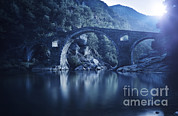 Most Posters - Dyavolski Most Arch Bridge Poster by Evgeny Kuklev