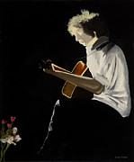Iconic Paintings - Dylan by Stuart Engel