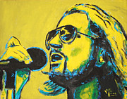 Pearl Jam Paintings - Eddie Vedder by John Hooser