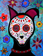 Pristine Cartera Turkus - El Perro Day Of The Dead