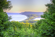 Scenic Drive Prints - Empire Bluff Trail Overlook Print by Twenty Two North Photography