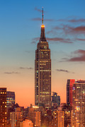 Clarence Holmes - Empire State Building Morning Twilight...