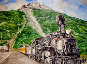 Coal Train Originals - Engine 478 by Jessica Tookey