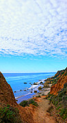 California State Map Digital Art - Entrance to El Matador by Ron Regalado