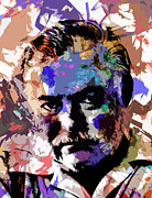 Allen Glass Framed Prints - Ernest Hemingway Framed Print by Allen Glass