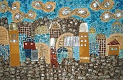 Mosaic Mixed Media - Everlasting holiness of Jerusalem   by Reli Wasser
