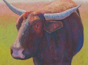 Horns Pastels - Eyewitness by Becky Roesler