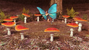 Fairies Art - Fairy Ring by Liam Liberty