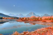 Struckle Framed Prints - Fall At OxBow Bend Framed Print by Kathleen Struckle