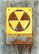 Post Apocalyptic Paintings - Fallout Shelter #2 by Jennifer  Creech