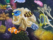 Clown Fish Originals - Fashion Fish by Theon Guillory