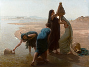 Famous Artists - Fellaheen Women by the Nile by Leon Belly