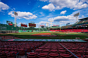Red Sox Metal Prints - Fenway Park Metal Print by Tom Gort
