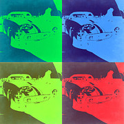 Ferrari Gto Classic Car Prints - Ferrari GTO Pop Art 2 Print by Irina  March