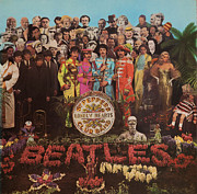 Sgt Peppers Art - Find the Lonely Hearts by Robert Rhoads