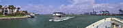 David  Zanzinger - Fisher Island Ferry Miami Florida Port...