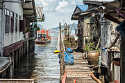 Shack Photos - Fishing Village in Koh Lanta Thailand by Georgia Fowler