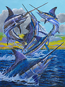 Carey Chen - Five Billfish
