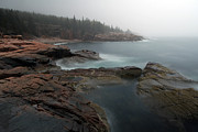 All Acrylic Prints - Fog at Acadia National Park by Juergen Roth
