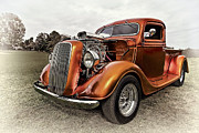 Up And Coming Prints - Ford Truck Rod Print by Marcia Colelli