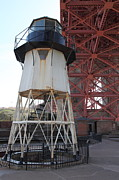 Wingsdomain Art and Photography - Fort Point Light House and The Golden...