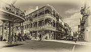 Steve Harrington - French Quarter Afternoon sepia