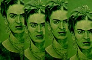 Zeitgeist Prints - Frida 4u Print by Richard Tito