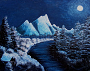 Barbara Griffin - Frosty Night in the Mountains