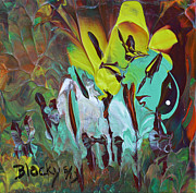 Donna Blackhall Metal Prints - Garden Of Eden Metal Print by Donna Blackhall