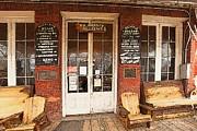 Genoa Saloon Oldest Saloon In Nevada Fine Art Print by Artist and Photographer Laura Wrede