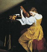 Youthful Photos - Gentileschi, Orazio Lomi 1565-1638. The by Everett