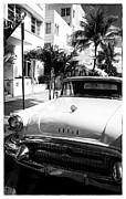 Collins Avenue Prints - Getaway in South Beach Print by John Rizzuto