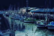 Marina Digital Art - Ghostly Marina by Donna Blackhall