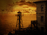 Alcatraz Photo Posters - GHOSTS of ALCATRAZ Poster by Daniel Hagerman