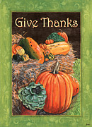 Food  Framed Prints - Give Thanks Framed Print by Debbie DeWitt