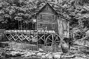 Steve Harrington - Glade Creek Grist Mill bw