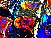 Avant Garde Photos - Glass Abstrct 9 by Sarah Loft
