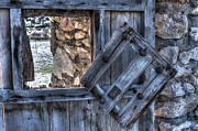Abandoned Houses Metal Prints - Glimpses of times past Metal Print by Heiko Koehrer-Wagner