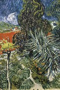Auvers Sur Oise Prints - Gogh, Vincent Van 1853-1890. The Garden Print by Everett