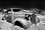 Ghost Town Metal Prints - Goin Nowhere Metal Print by Cat Connor