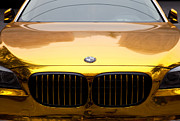 Fototrav Print - Golden BMW car