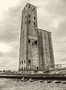 Photo Captures by Jeffery - Grain Silo Black and White
