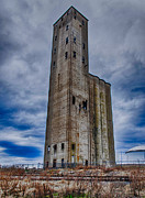 Photo Captures by Jeffery - Grain Silo West Nashville HDR