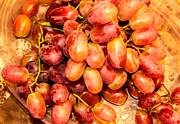 Food And Beverage Photo Originals - Grape by Tibor Co