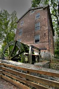 Oak Creek Prints - Graue Mill - 3 Print by David Bearden